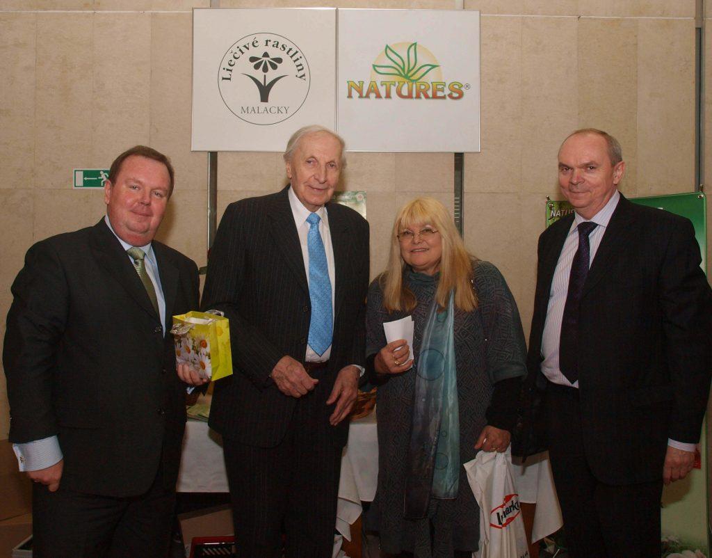 S majstrom Chudíkom v roku 2011 na slávnostnom odovzdávaní Slovak Gold v r. 2011